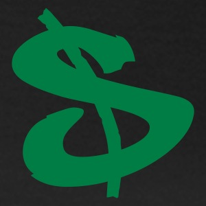Edelbruin dollar sign T-shirts - Vrouwen T-shirt
