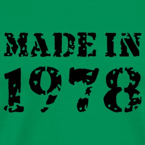 Moosgrün Made in 1978 T-Shirts - Männer Premium T-Shirt
