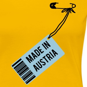 Gelb Made in Austria T-Shirt T-Shirts - Frauen Premium T-Shirt