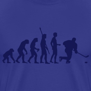 Royal blue evolution_eishockey_d Men's T-Shirts - Men's Premium T-Shirt