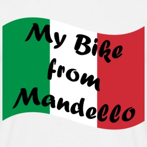 Sand my_bike_from_mandello T-Shirts - Männer T-Shirt