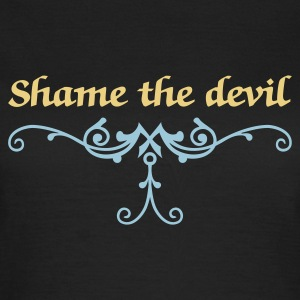 Marrón noble shame the devil (1c) Camisetas - Camiseta mujer