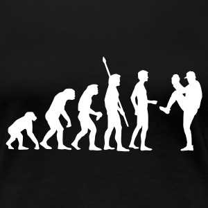 evolution_baseball_pitcher_b_1c T-skjorter - Premium T-skjorte for kvinner