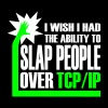 slap_over_tcp_ip - Women's Premium T-Shirt
