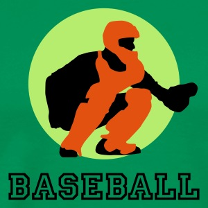 baseball_c_catcher_3c T-skjorter - Premium T-skjorte for menn