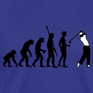 Diva blue evolution_golf_b_2c Men's T-Shirts - Men's Premium T-Shirt