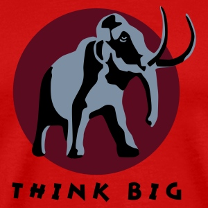 mammut_3c_think_big T-shirts - Herre premium T-shirt