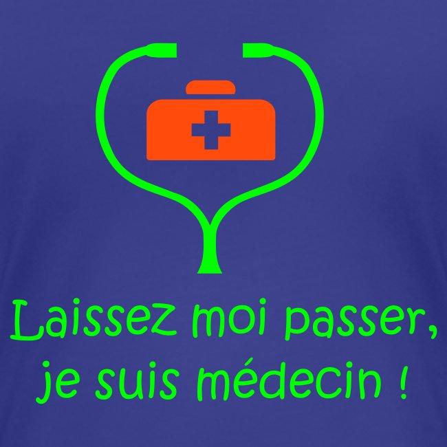 LE t-shirt des étudiants de médecine (version femme)