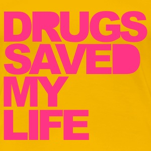 Light pink Drugs Saved Women's T-Shirts - Women's Premium T-Shirt