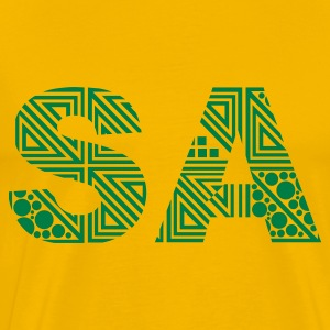 Yellow South Africa - Saturday - SA Men's T-Shirts - Men's Premium T-Shirt