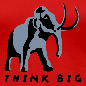 mammut_2c_think_big T-Shirts - Women's Premium T-Shirt