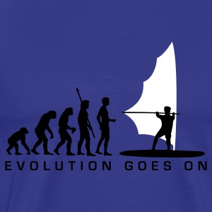 Sky evolution_windsurfer_b_2c Men's T-Shirts - Men's Premium T-Shirt