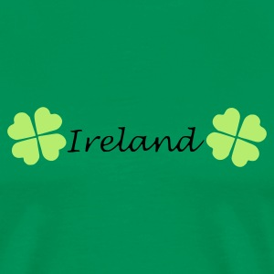 Grass green Ireland Men's T-Shirts - Men's Premium T-Shirt