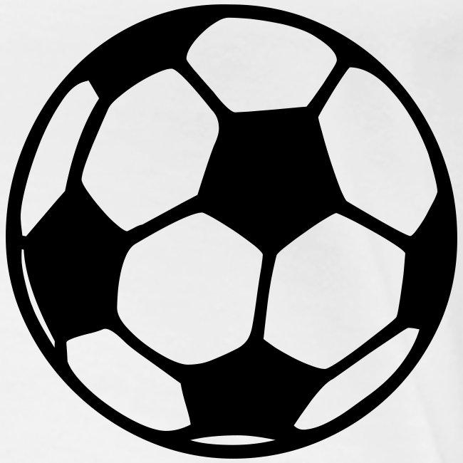 Girlieshirt Fussball