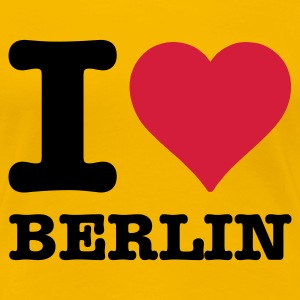 I love Berlin - Frauen Premium T-Shirt