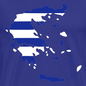 Sky Greece Hellas Men's T-Shirts - Men's Premium T-Shirt