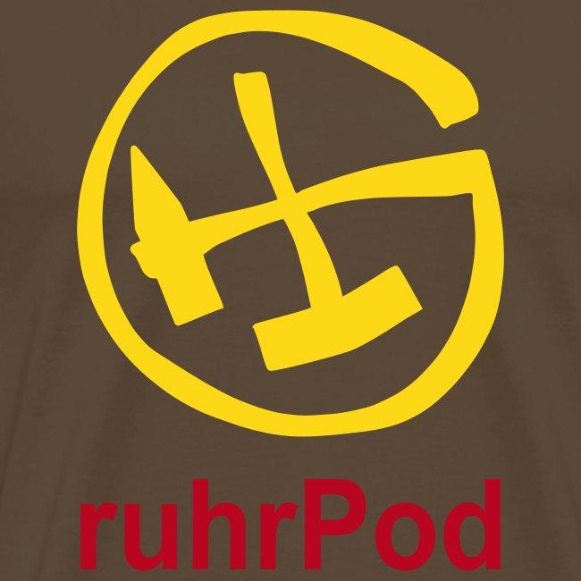 Geocaching ruhrPod Shirt