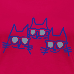 Ruby red cool cats T-Shirts - Women's Premium T-Shirt