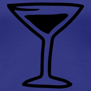 Türkis Cocktail - Line T-Shirts - Frauen Premium T-Shirt