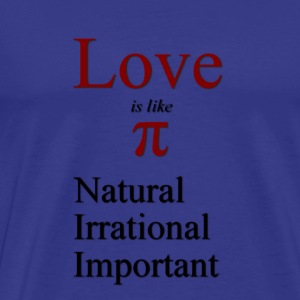 Love and Pi - Men's Premium T-Shirt