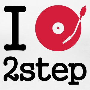 I dj / play / listen to 2step T-Shirts - Vrouwen Premium T-shirt