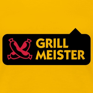 Light pink Grillmeister 2 (2c) T-shirts - Dame premium T-shirt