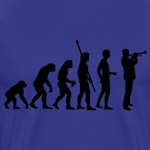 evolution_trompeter T-Shirts - Men's Premium T-Shirt