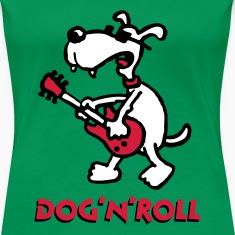 dog_n_roll_a_3c T-Shirts