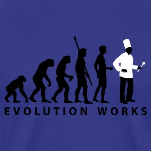 evolution_koch_2c_b T-shirts - Mannen Premium T-shirt