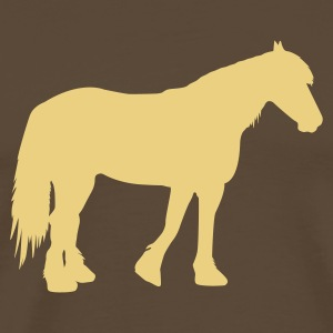 cold-blooded horse T-Shirts - Men's Premium T-Shirt