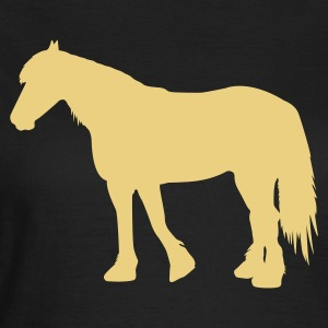 Kaltblut  - cold-blooded horse T-Shirts - Frauen T-Shirt