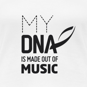 My DNA Music Top - Frauen Premium T-Shirt