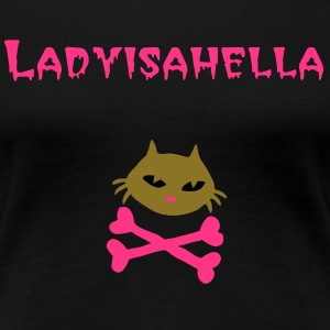 Roller Derby hell cat gear by Patjila - Women's Premium T-Shirt