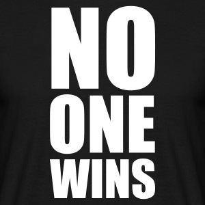 :: no one wins :-: - T-shirt herr