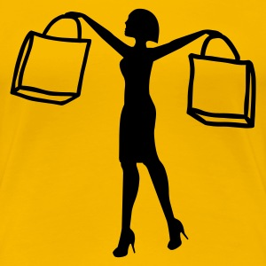 Shopping - Women's Premium T-Shirt