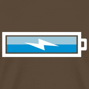 Charging Battery - Men's Premium T-Shirt