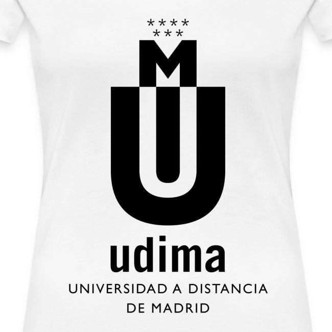 Camiseta manga corta mujer- UDIMA