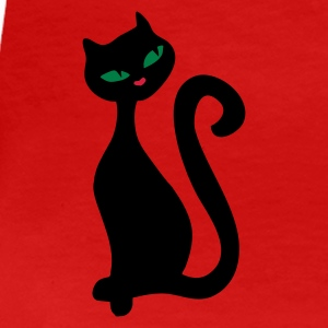 Red Retro kitty cat 2 combine it :) Women's T-Shirts - Women's Premium T-Shirt