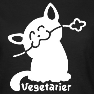 Chocolate Vegetarier Katze T-Shirts - Frauen T-Shirt