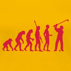evolution_golf_c_1c T-Shirts