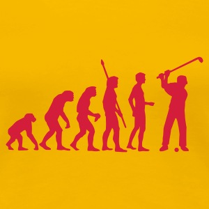 evolution_golf_c_1c T-shirts - Dame premium T-shirt