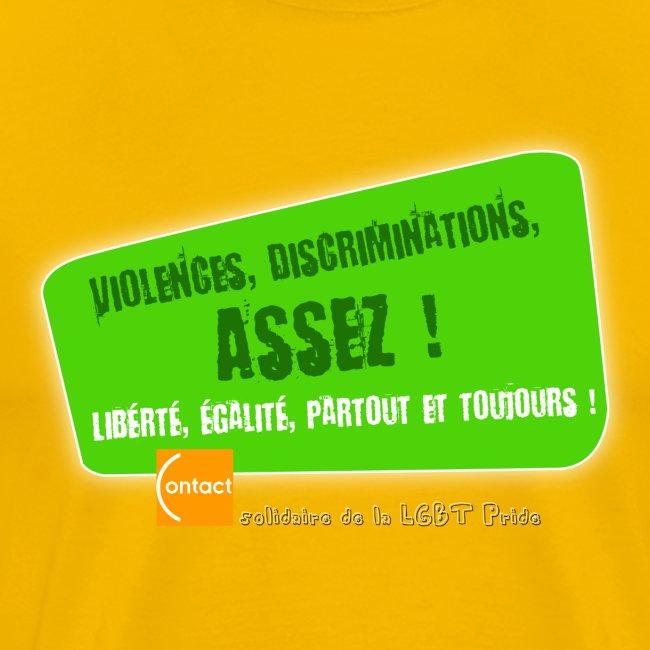 LGBT Pride Paris 2010 - Violences, discriminations : assez !