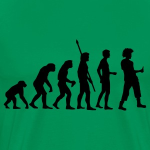 evolution_punk T-Shirts - Men's Premium T-Shirt
