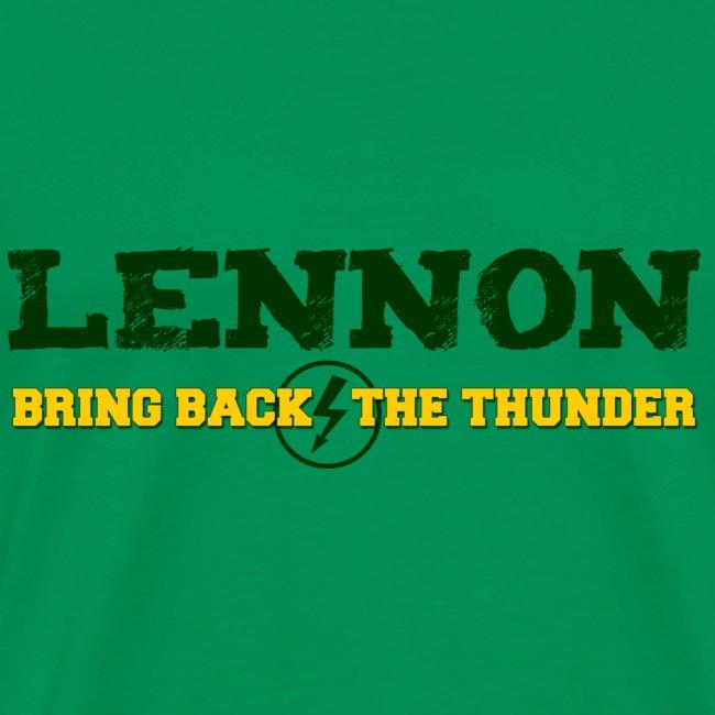 Bring Back The Thunder