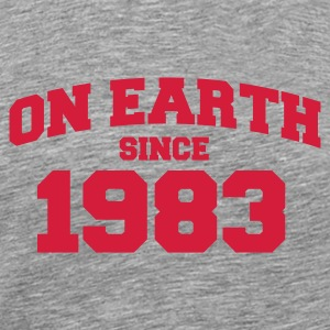 Cendre onearth1983 T-shirts - T-shirt Premium Homme