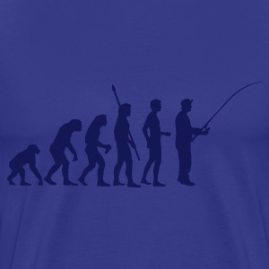 Sky evolution_fishing T-Shirts - Männer Premium T-Shirt