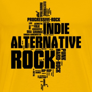 Alternative-Indie-Rock - Männer Premium T-Shirt