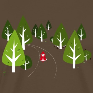 Something´s going on in the woods - Men's Premium T-Shirt
