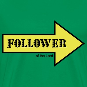 Follower of the Lord - Männer Premium T-Shirt