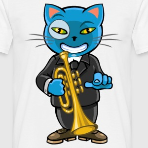 chat zz - T-shirt Homme